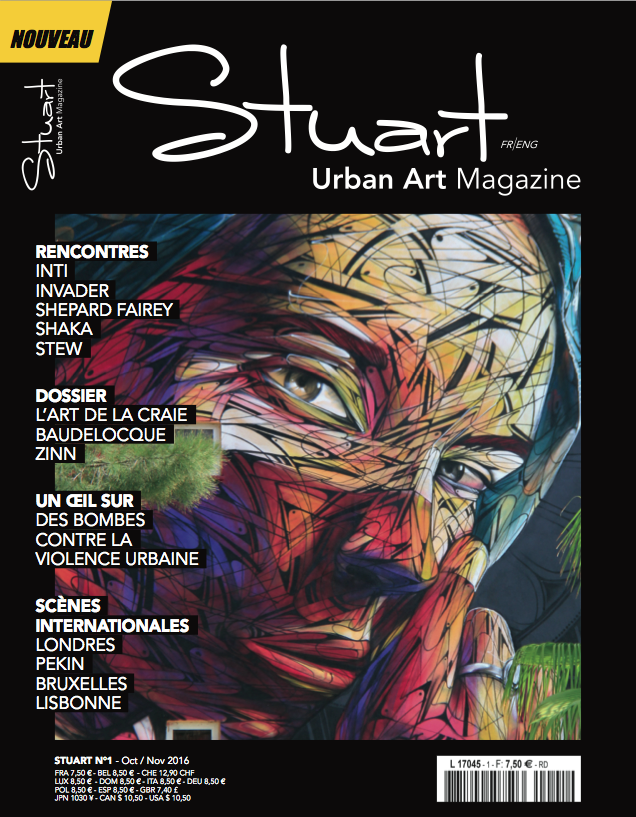 Stuart, Urban Art Magazine