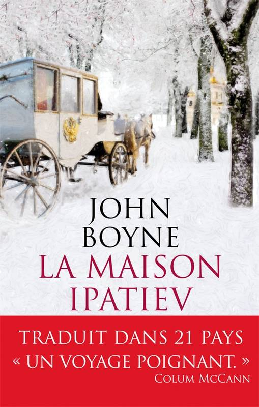 La maison Ipatiev, de John Boyne